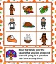 Thanksgiving Turkey Trot Times - Multiplication and Addition Game
