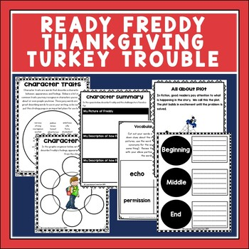 Ready Freddy! Thanksgiving Turkey Trouble Novel Study