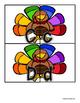 Thanksgiving Turkey Uppercase / Lowercase Alphabet Match -  RF.K.1d