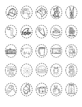 Thanksgiving Turkey Word Family Worksheets:  Cut and Paste Activities