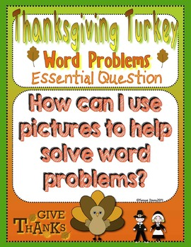 Thanksgiving Turkey Word Problems Tiered Math Tub