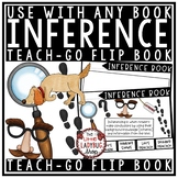 Making Inferences Activities Flip Book for ANY Book Teaching Reading Inferencing