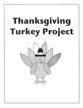 Thanksgiving Turkey Writing Craftivity
