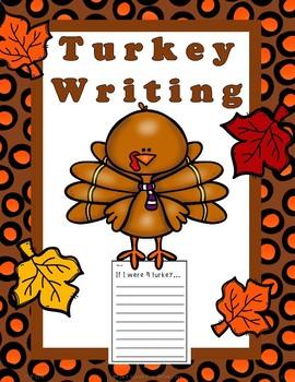 Thanksgiving Turkey Writing FREE