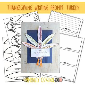 Thanksgiving Turkey Craftivity