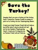 Thanksgiving Turkey Writing Prompts