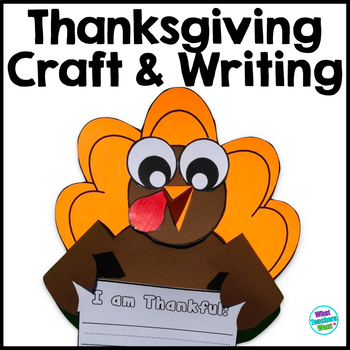 Thanksgiving Turkey Writing and Craft