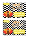 Thanksgiving Turkey {Ziplock} Bag Topper