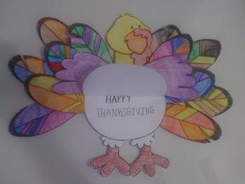 Thanksgiving Turkey cards