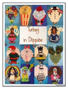 Turkey in Disguise by Kelly Beichler | Teachers Pay Teachers