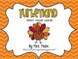 Thanksgiving Turkeyland Short Vowel Gameboard