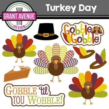 Thanksgiving Turkeys Clipart