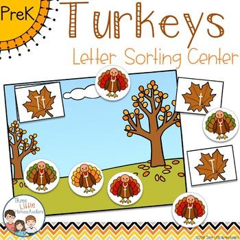 Thanksgiving Turkeys Letter Sorting Center