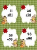 Thanksgiving Two Digit Addition Scoot Game: No Regrouping