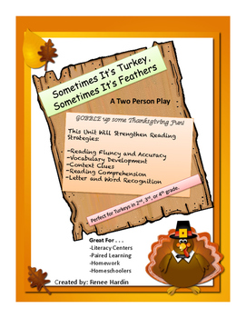 Thanksgiving: Two Person Read Aloud Play