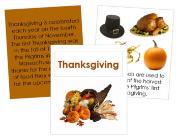 Thanksgiving (USA) Cards and Booklet