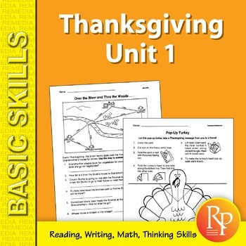 Thanksgiving Unit 1