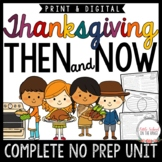Thanksgiving Unit - Then and Now
