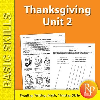 Thanksgiving Unit 2