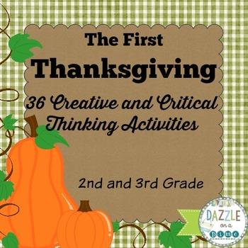 Thanksgiving Unit - 2nd Grade - 3rd Grade
