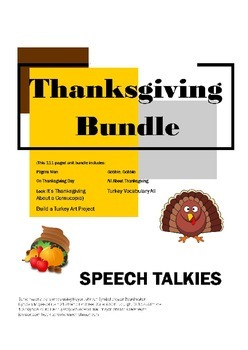 Thanksgiving Unit Bundle