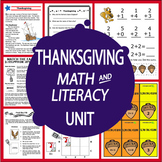 Thanksgiving National Holidays Unit–2 Lessons + 8 Thanksgiving Center Activities