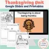 Thanksgiving Unit/ First Thanksgiving/ Thanksgiving Celebr