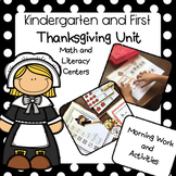 Thanksgiving Unit (Kindergarten Literacy and Math)