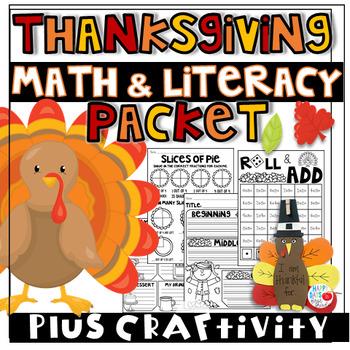 Thanksgiving Unit- Math, Literacy, and Social Studies (K-2)