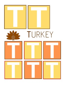 Thanksgiving Unit, Preschool Toddler Pack