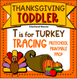 Thanksgiving Unit, Preschool Toddler Pack