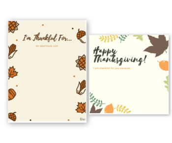 Thanksgiving Unit Study | Thanksgiving Unit | Printable Homeschool Lesson Plans