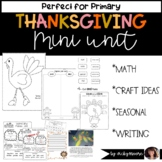 Thanksgiving Unit