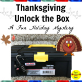 Thanksgiving Unlock the Box Mystery
