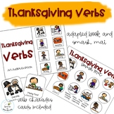 Thanksgiving Verbs Adapted Book