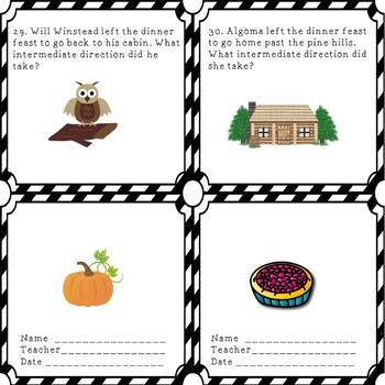Thanksgiving Village Map Skills