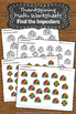 Thanksgiving Math Worksheets Preschool Kindergarten Specia