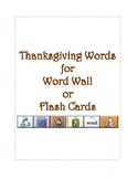 Thanksgiving Vocabulary Words with LAMP Sequences - WFL - AAC Device