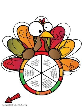 Thanksgiving Vocabulary and Communication Activities