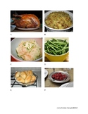 Thanksgiving Vocabulary and Non-Count Nouns