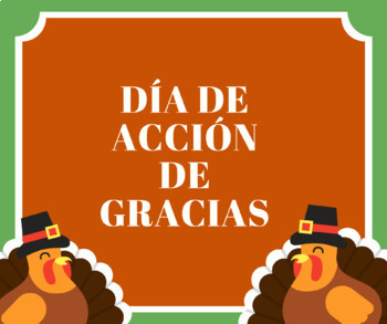 Thanksgiving Vocabulary in Spanish for Beginners
