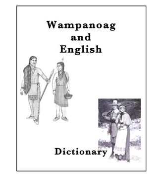 Thanksgiving:  Wampanoag and English Dictionary