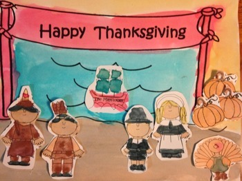 Thanksgiving Role Play Craftivity