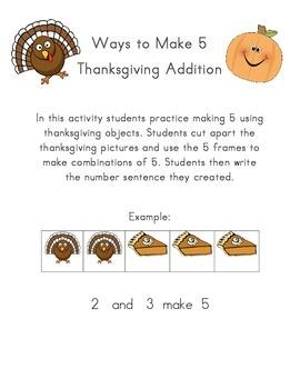 Thanksgiving Ways to Make 5