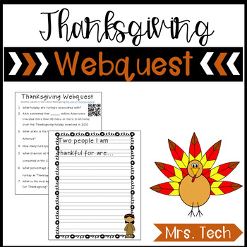 Thanksgiving Webquest