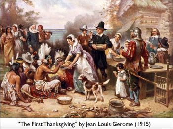 Thanksgiving Webquest and Art Integration Project
