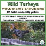 Thanksgiving Wild Turkeys WebQuest and STEM Challenge