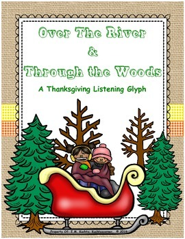 Thanksgiving/Winter/Holiday Listening Glyph: Over The River & Through the Woods