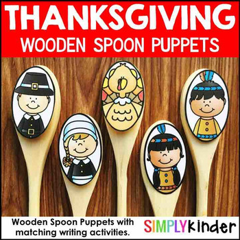 Thanksgiving Wooden Spoon Puppets