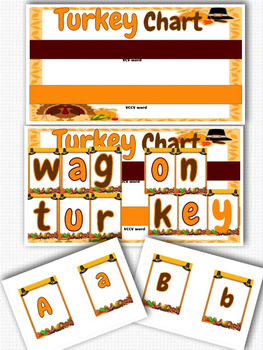Thanksgiving Word Building